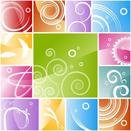 An image of an abstract background mosaic. Stock Vector - 17336189