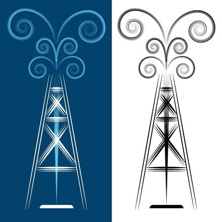 Torres petroleras dibujos - Imagui