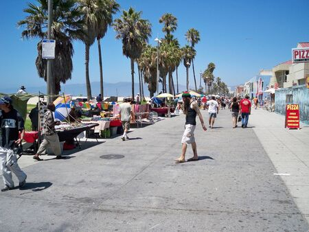 An image of a Venice Beach California boardwalk 03-10-2008.