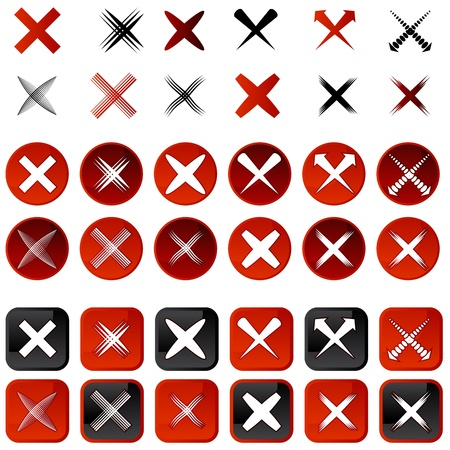 An image of a cancel icons.
