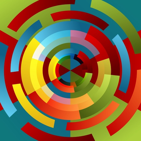 wheel spin: An image of a spinning wheel background. Illustration