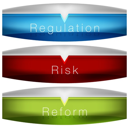 coded: An image of a regulation risk reform chart.