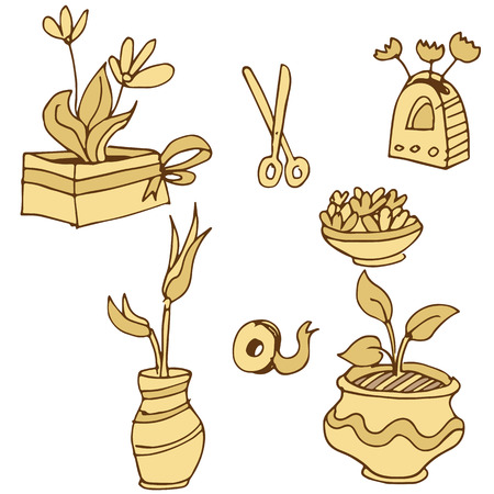 pot holder: An image of plant containers.