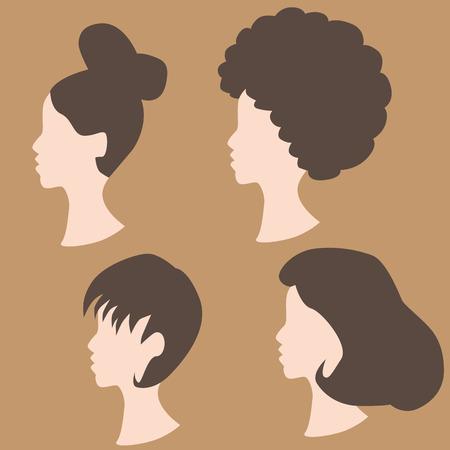 peluca: Una imagen de peinados peluca.
