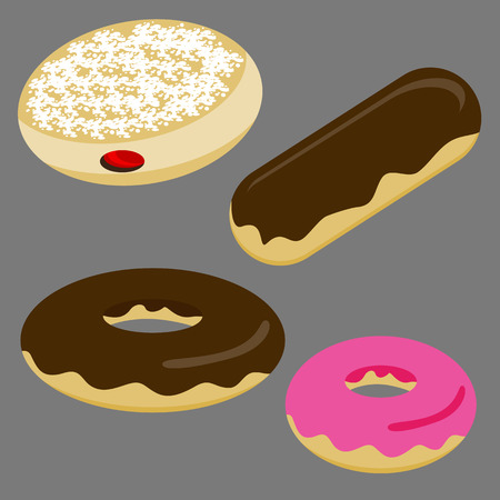 An image of a set of donuts.