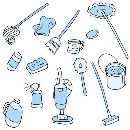 lejia: Una imagen de los elementos de limpieza.