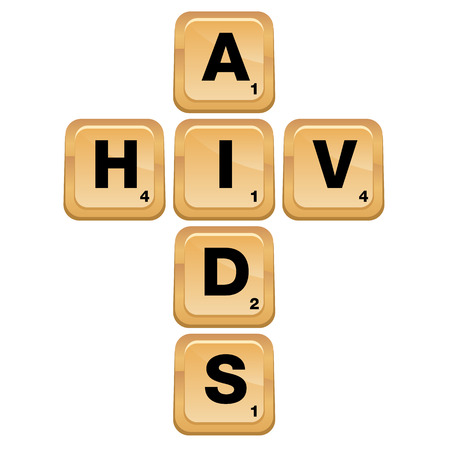 An image of an AIDS HIV puzzle icon. Stock Vector - 29725095