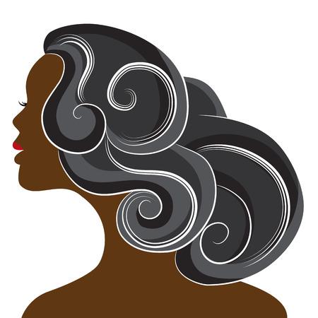 L'immagine di una bella donna africana. Archivio Fotografico - 29834575