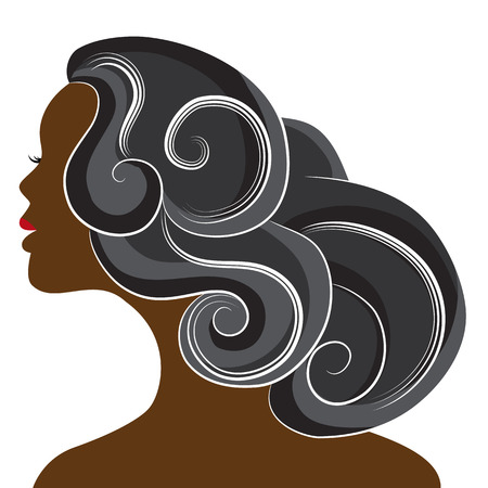 An image of a beautiful african woman.