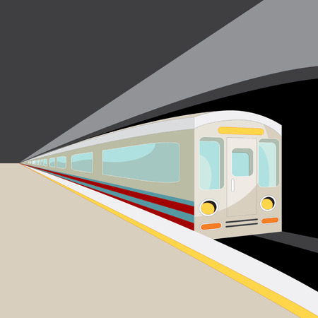 magnetic clip: An image of a subway car.