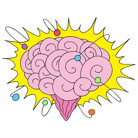 an atomic powered brain.