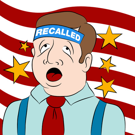 recall: a recalled politician.