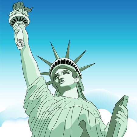 An image of the Statue of Liberty.