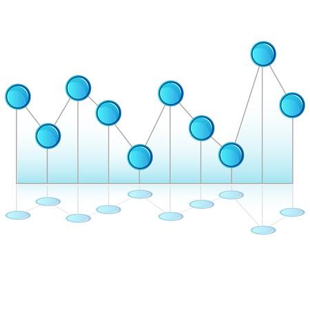 pinhead: An image of a 3d pinhead line chart.