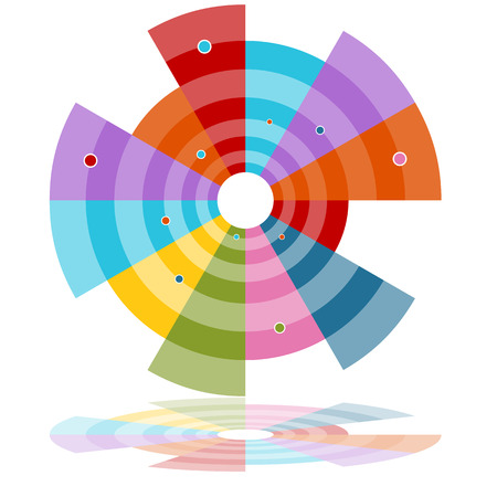 expanding: Una imagen de un gr�fico de rueda subtemas.