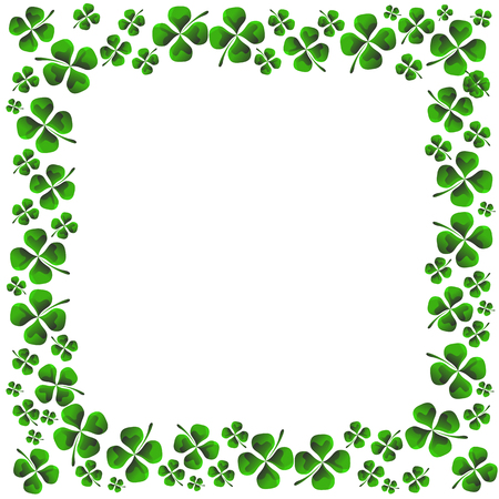 four pattern: An image of a four leaf clover pattern.