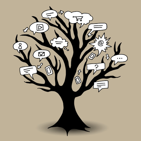 An image of a communication tree.