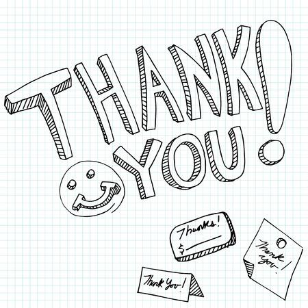 메시지를 당신에게 감사의 이미지. 스톡 콘텐츠 - 35834784