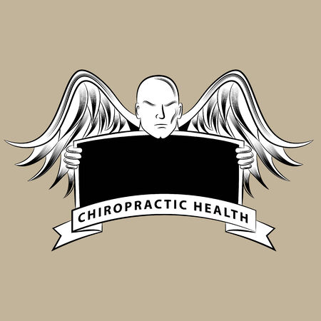 chiropractic: An image of a chiropractic health blank sign.