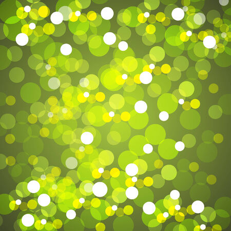 An image of a background of yellow blurred lights.