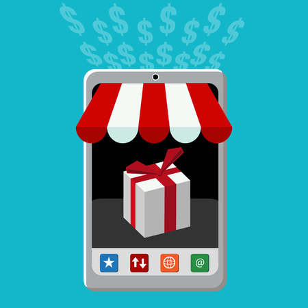 purchase icon: An image of a retail mobile purchase icon.