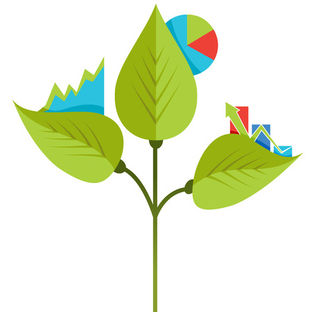 An image of an organic growth icon.