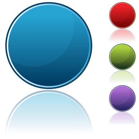 ボタンのアイコンの画像を設定します。  イラスト・ベクター素材