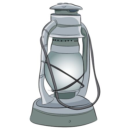 An image of of a oil lantern.