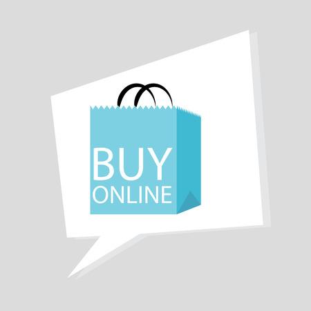 Koop online pictogram.