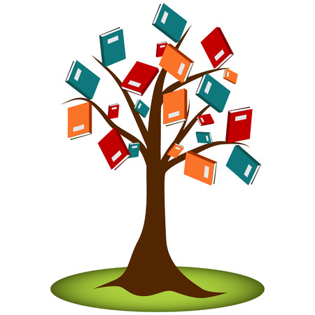 Reading knowledge tree of books.