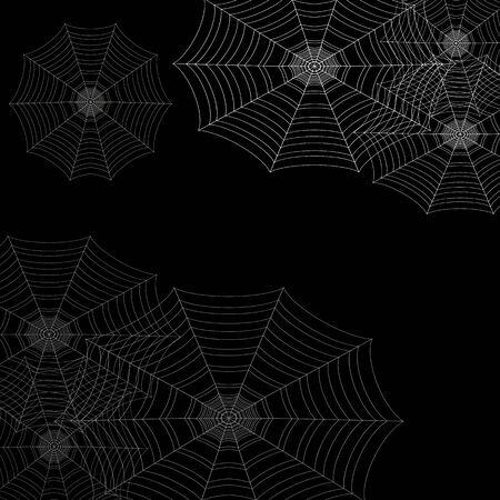 An image of a cobweb background icon. Ilustração