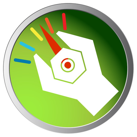 adjusting: An image of an abstract wrench adjusting settings icon.