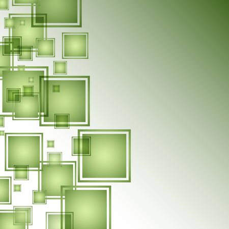 An image of a green abstract square background.