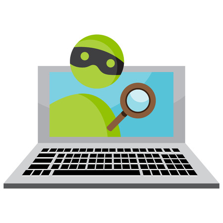 data theft: An image representing personal identity theft over the internet.