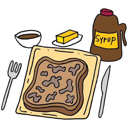 An image of a French toast breakfast.