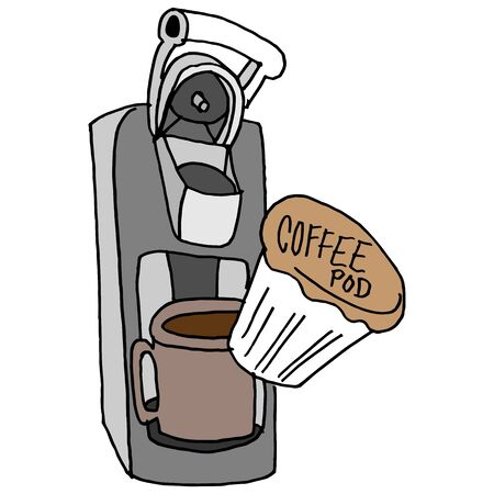 An image of a coffee pod machine.