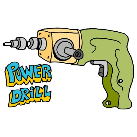 hardware: An image of a hardware power drill.