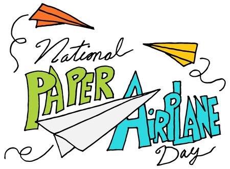 airplanes: An image of a paper airplane day.