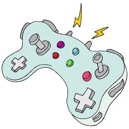 현대 게임 컨트롤러의 이미지입니다.