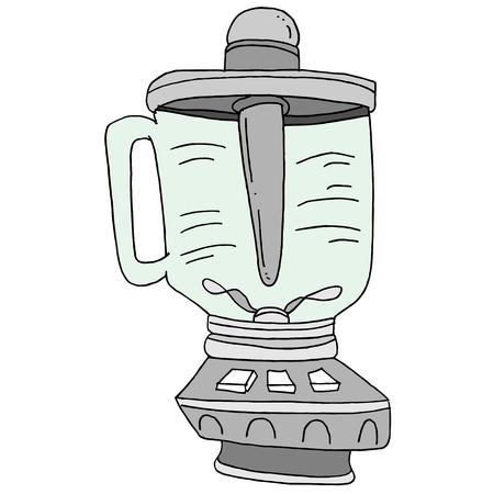 스무디 믹서 드로잉의 이미지입니다.