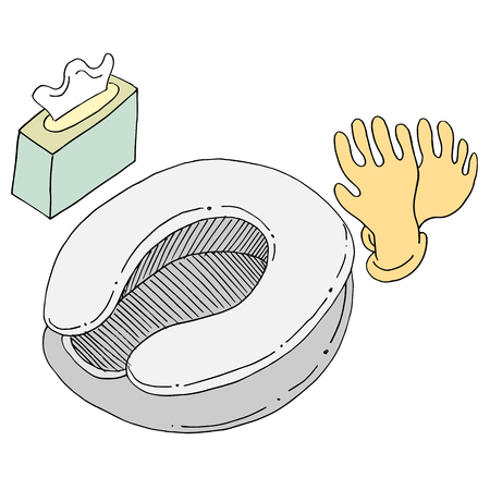 An image of Bed Pan Wipes and Gloves.