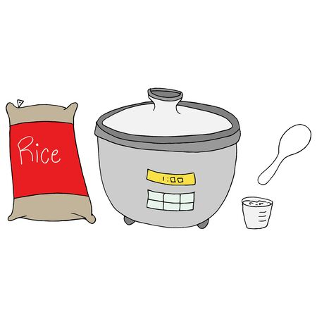 An image of a  rice cooker maker.