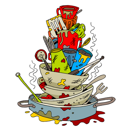 1 411 dirty dishes stock illustrations cliparts and royalty free rh 123rf com dirty dishes clipart dirty dishes clipart images