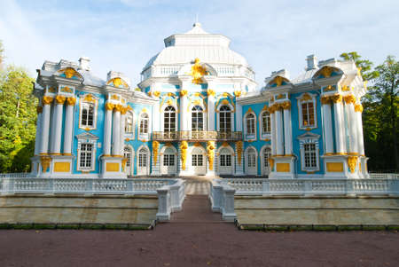 catherine: The Hermitage of The Catherine Park in Pushkin (Tsarskoye Selo). Saint Petersburg. Russia