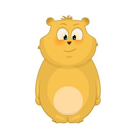 teddybear: illustration of cute bear Illustration