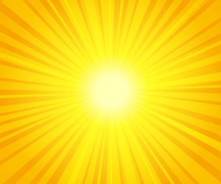 vector illustration of sunburst Vector