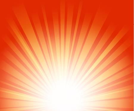 rayos de sol: Los rayos de luz