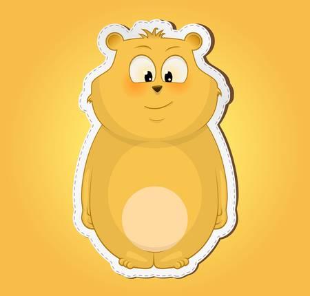 Cute bear Stock Vector - 13652740