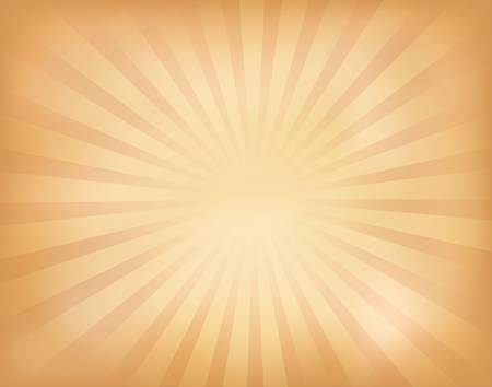 retro sunrise:  illustration of vintage sunburst Illustration