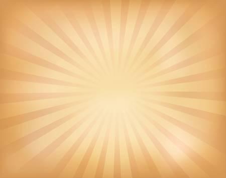 illustration of vintage sunburst Illustration